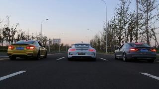 [아미트릭스] 포르쉐991,아우디S5,BMW M4 아미트릭스 장착 제로백 레이스
