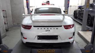 포르쉐 911 GT3 테크텍 가변배기 모듈 - 수입차튜닝 영구공장