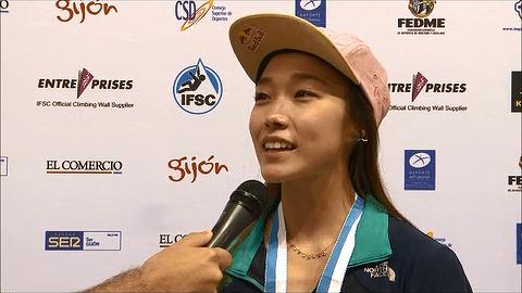 2014.09.14 스페인 히혼 / IFSC 클라이밍 세계선수권대회 여자 리드