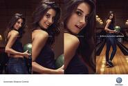 '매력적인 그녀와는 멀어져야' 폭스바겐의 기발한 광고