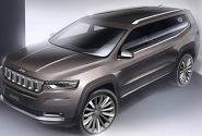 지프, 7인승 SUV 그랜드 커맨더 공개..중국 위한 '전략 모델'