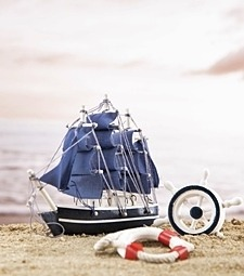 넓은 바다를 항해하고<br>싶어지는 모형 범선
