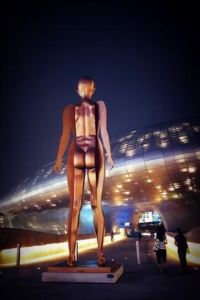 Dongdaemun Design Plaza, Seoul Nightscape