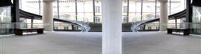 HDRI (건물 내부, 계단, 흰색, 회색, 시원함)