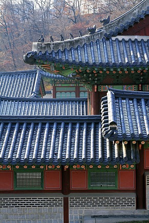 Beautiful appearance of traditional Korean architecture