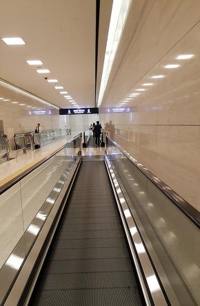 Yeouido Station underground scenery