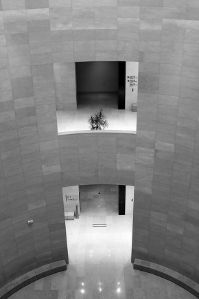 Inside view of the national museum