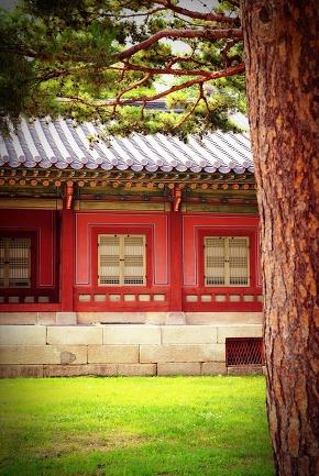 view of korean palace