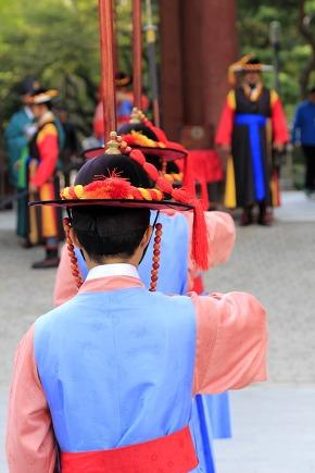 Deoksugung Palace Royal Guard-Changing Ceremony program