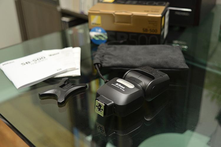 Nikon Speed Lignt SB-500 개봉기