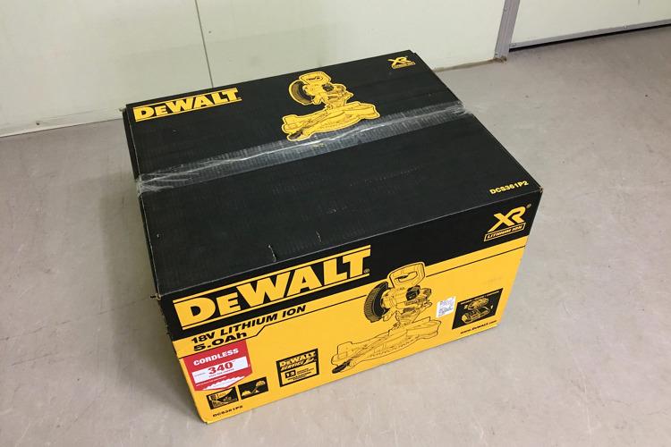 DEWALT DCS361P2 개봉 사용 후기