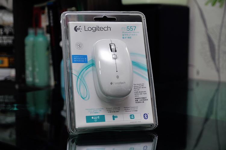 Logitech 블루투스 마우스 M557 개봉기