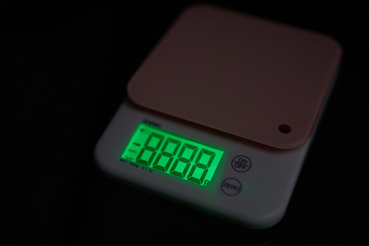드레텍 주방용 디지털 전자 저울 dertec KS-514(PK) Pink! 개봉기