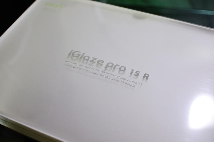 MacBook Pro Retina 15inch MOSHI iGlaze Shell Case Clear - 맥북 프로 레티나 15형 모시 아이글레이즈 하드 케이스