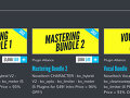 Plugin Alliance / Mastering Bundle..