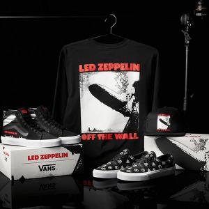 Vans, 레드 제플린의 데뷔 50주년을 기념하는 한정 풋웨어 &어패럴 컬렉션 출시