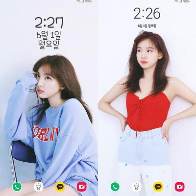 Twice Nayeon Mina 2020 Season S Greetings Behind Wallpapers Lockscreen