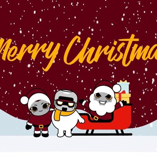메리 크리스마스 보내세요