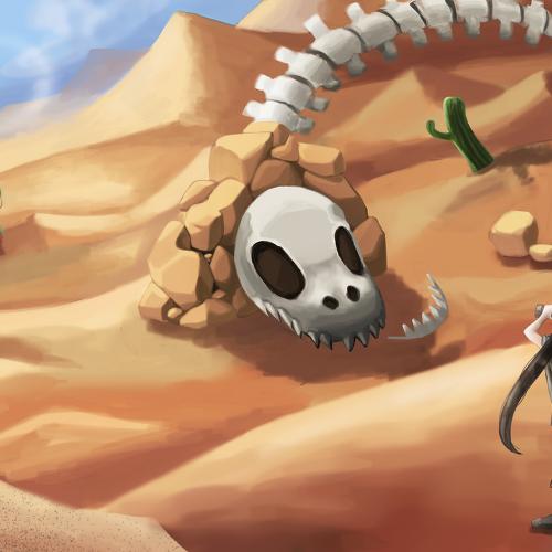 [웹소설/텍본] 사막투성이의 세계에서 아저씨가 전자화폐로 무쌍한다 (번역기/1화 맛보기)