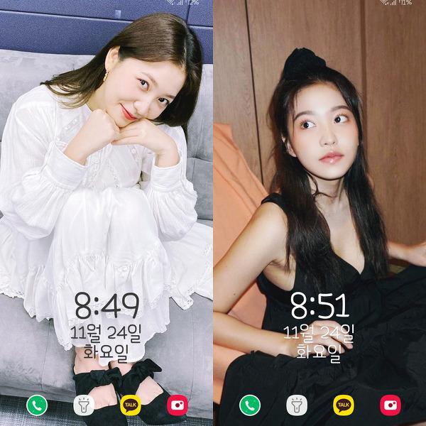 레드벨벳(Red Velvet) 예리(Yeri) 인스타 폰 배경화면 & 잠금화면 54장 (갤럭시 노트8, 노트9, S8, S9)