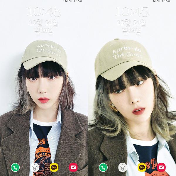 소녀시대(Girls' Generation) 태연(Taeyeon) What Do I Call You 두번째 폰 배경화면 & 잠금화면 63장 (갤럭시 노트8, 노트9, S8, S9)