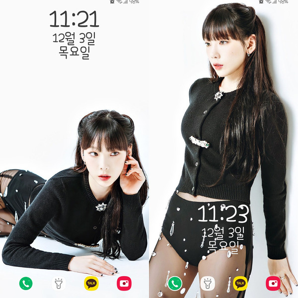 소녀시대(Girls' Generation) 태연(Taeyeon) 일본 화보 ViVi 폰 배경화면 & 잠금화면 49장 (갤럭시 노트8, 노트9, S8, S9)