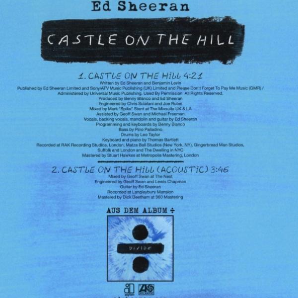 [해외 노래/추천]Ed Sheeran - Castle on the Hill (듣기)