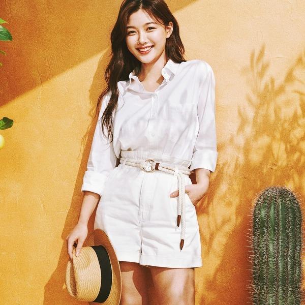 김유정(Kim You-jung) H&M 2020 썸머 캠페인 고화질 화보 6장