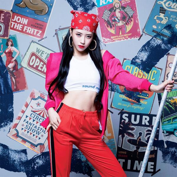 러블리즈(Lovelyz) 미주(Mijoo) 필라테스S 2020 9월호 고화질 화보 6장