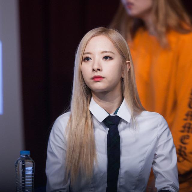 170107 우주소녀 명동 팬싸인회 - 키보도흐
