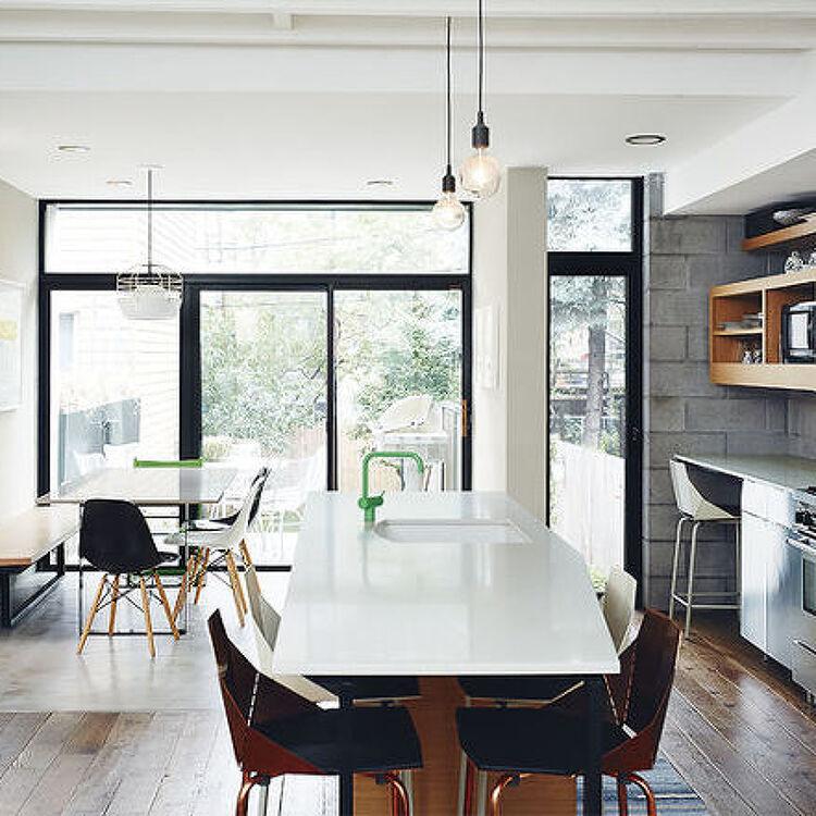 브루클린 노후주택리모델링 Noroof Architects Brooklyn Home
