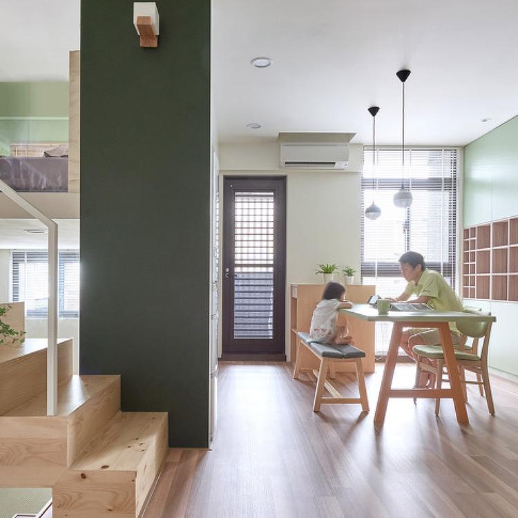 *서퍼크 벽돌과 목재로 구성한 경사지붕 주택-Nash Baker Architects Combines