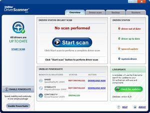 DriverScanner 2009 v2.0.0.26 - 드라이버 검색, 백업, 업데이트