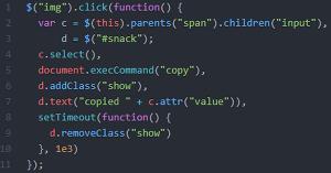 [JS] 요소를 클립보드로 복사하기