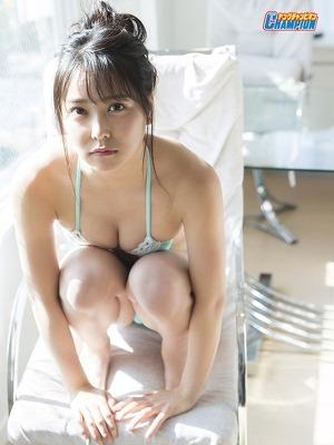 NMB48 Miru Shiroma Extra Photos for Young Champion Magazine