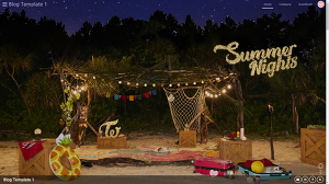 티스토리 반응형 스킨 [Summer Nights] 1.4 배포