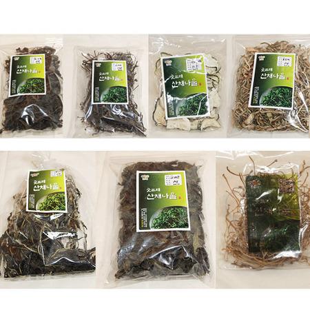 고사리 버섯류 나물류 밤 대추 모두 가격 상승