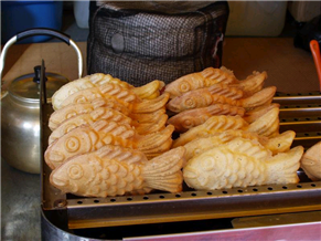 음식 - 붕어빵 5개의 천원