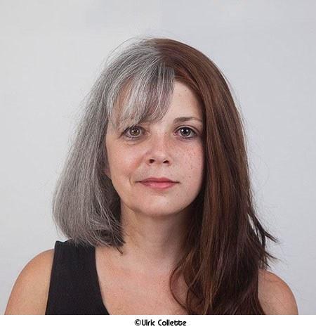 캐나다 작가가 만든 할머니와 손녀 얼굴 합성