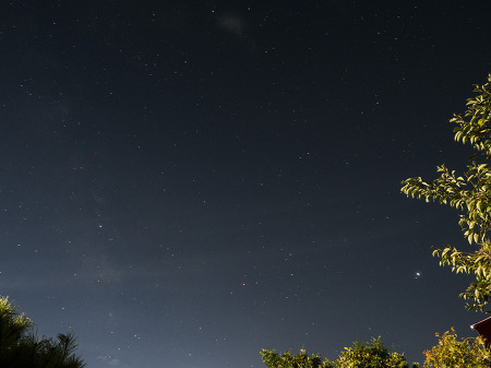 밤 하늘 별 찍기~