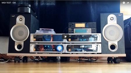 XG 음원으로 제작된 미디파일의 XG음원과 GS음원의 사운드 차이