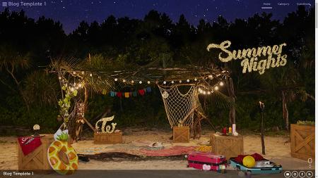 티스토리 반응형 스킨 [Summer Nights] 1.1 배포