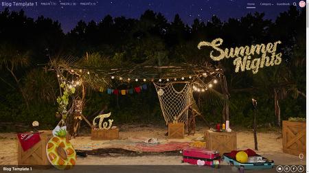 티스토리 스킨 #5 Summer Nights