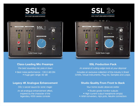 Solid State Logic / SSL 2 & SSL 2+
