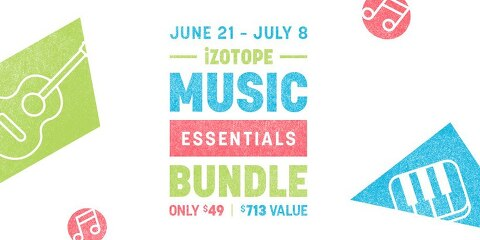iZotope / Music Essentials Bundle 할인