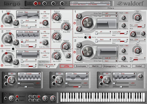 Audio Plugin Deals / Waldorf Largo 할인