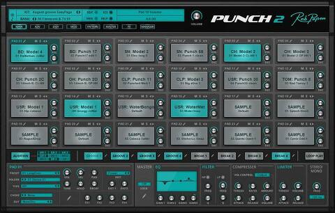 Rob Papen / Punch 2, XY-Transfer, eXplorer-6