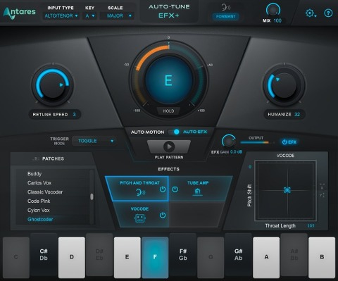 Antares Audio Technologies / Auto-Tune EFX+