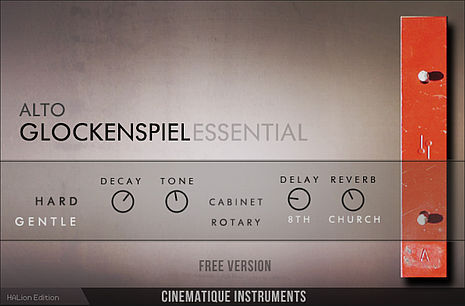 Cinematique Instruments / Alto Glockenspiel Essential