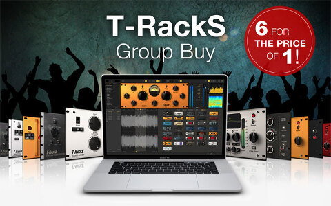 IK Multimedia / T-Racks Group Buy 1+5
